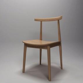 现代餐椅GJ3D模型【ID:327889032】