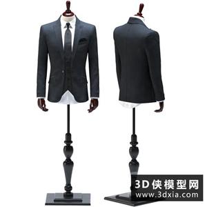 男装模特国外3D模型【ID:929326685】