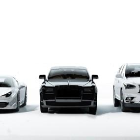 现代豪车跑车汽车3D模型【ID:331399126】