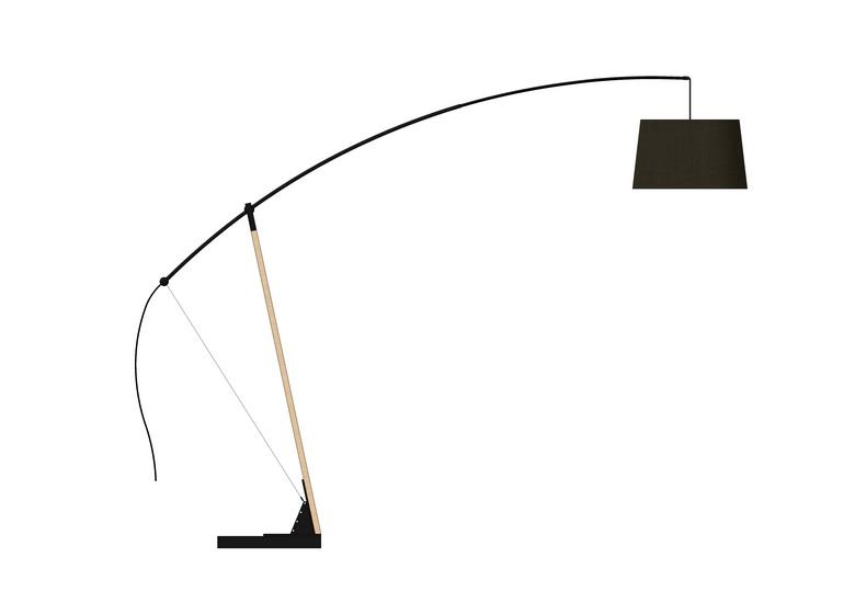 落地燈SU模型【ID:436630204】