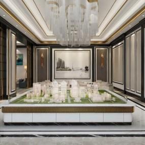 现代售楼部3D模型【ID:427963543】