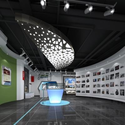 现代科技展厅3D模型【ID:328440049】