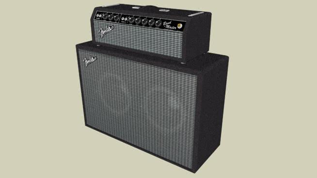 护舷吉他放大器SU模型【ID:940092140】