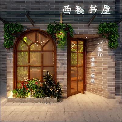 工业门头3D模型【ID:720600572】