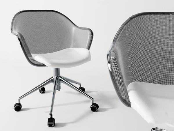 現代辦公椅3D模型【ID:746659430】