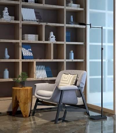 现代休闲沙发3D模型下载【ID:919428456】