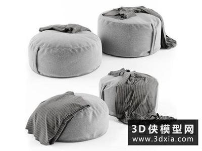 现代脚踏国外3D模型【ID:329628817】