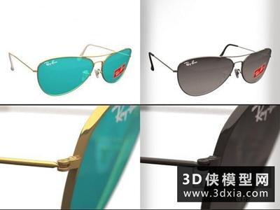 眼鏡國外3D模型【ID:929635620】