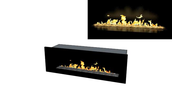 线性DRL壁炉SU模型【ID:940107589】