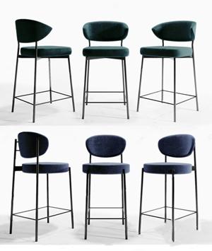 現代吧椅3D模型【ID:932394268】