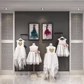 儿童服装3D模型【ID:528007336】