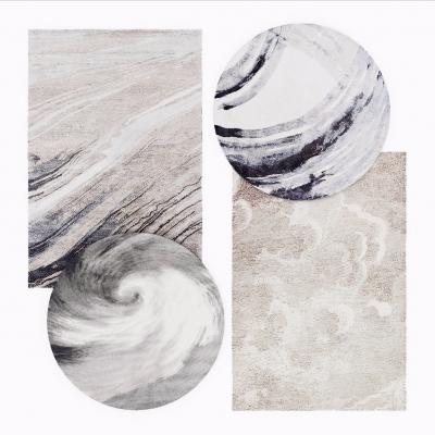 新中式地毯3D模型【ID:427795084】