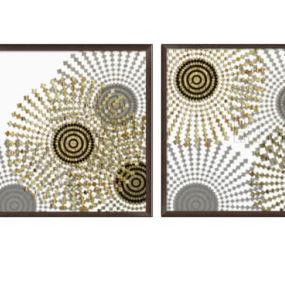 数字艺术与抽象的金色composi莽茫o露西说 收音机 扬声器 磁带 活页簿 钱包 【ID:740110965】