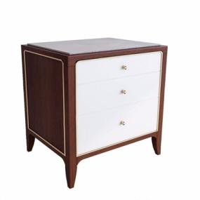 现代美式床头柜-T3D模型【ID:928194666】