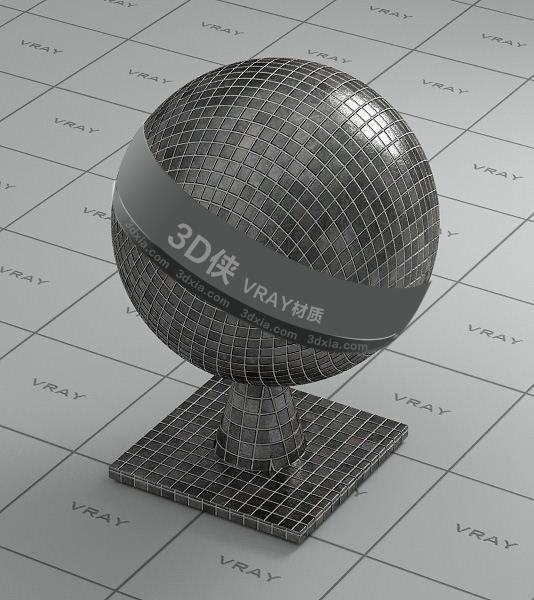 灰色馬賽克Vray材質【ID:736485718】