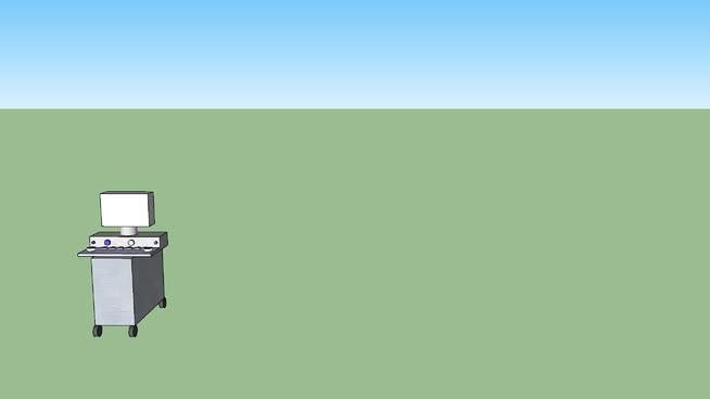 超声波扫描仪SU模型【ID:940122563】