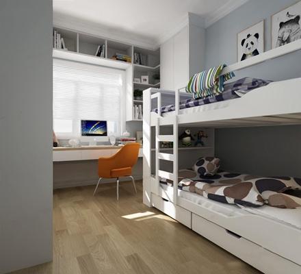 北歐小孩房3D模型【ID:127858201】
