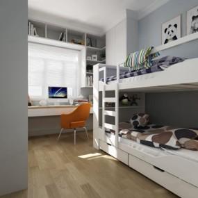 北欧小孩房3D模型【ID:127858201】