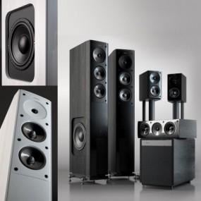 现代音响设备3D模型【ID:328439156】