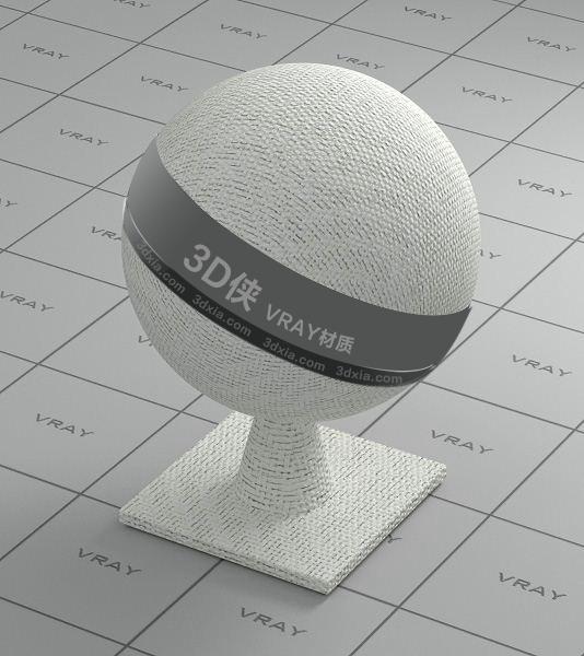 白色布料Vray材質【ID:736486496】