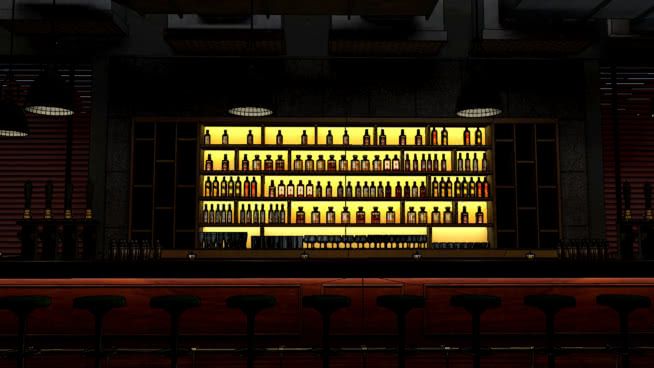 酒吧设计SU模型【ID:140125376】