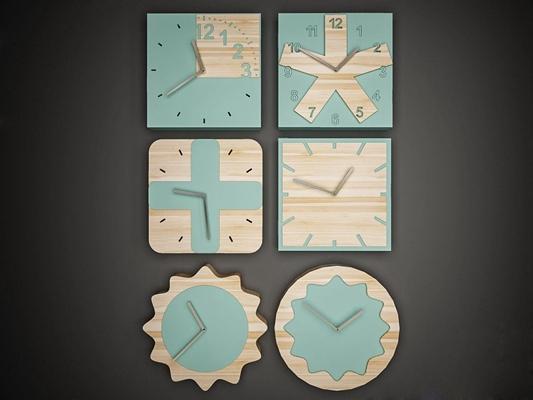 北欧时钟3D模型【ID:828140231】