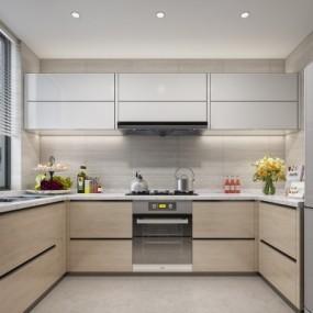 现代厨房3D模型【ID:128405478】