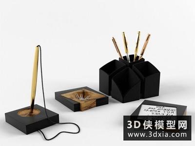 办公用品国外3D模型【ID:929398032】