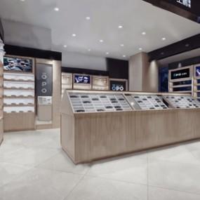 现代眼镜店3D模型【ID:131426787】