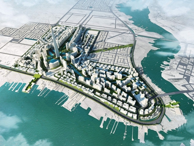 現代戶外建筑城規3D模型【ID:831437520】