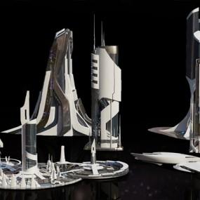 现代建筑3D模型【ID:226231848】