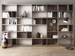 现代书柜书籍摆件组合3D模型【ID:927819532】