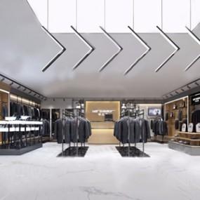 现代服装店3D模型【ID:131426788】