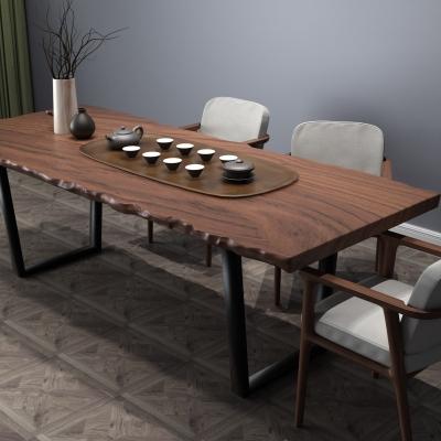 中式茶桌椅茶具组合3D模型【ID:327790668】
