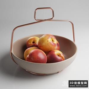 水果模型国外3D模型【ID:929329510】