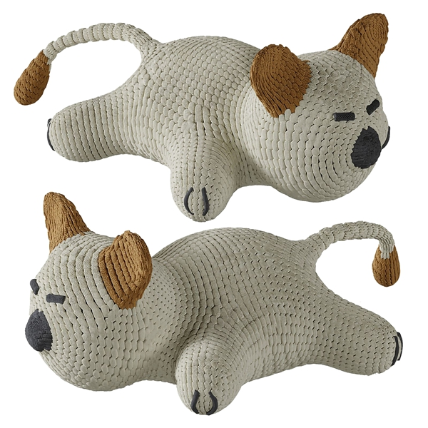 可爱针织猫咪公仔抱枕