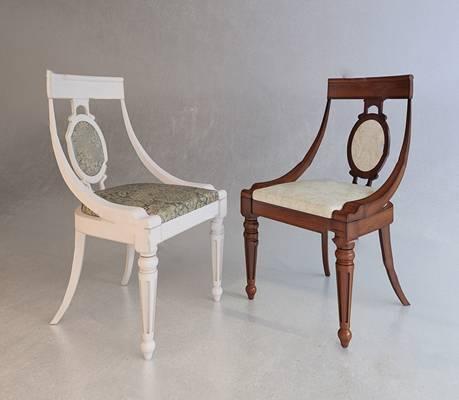 欧式休闲椅3D模型下载【ID:219460405】