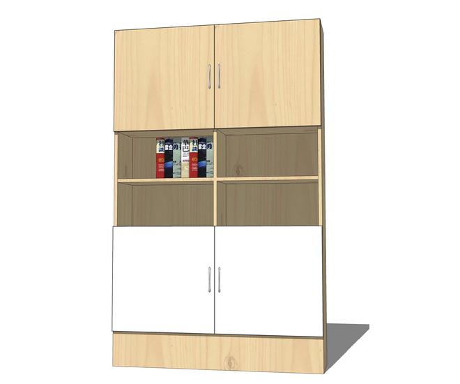 储物柜SU模型【ID:136735701】