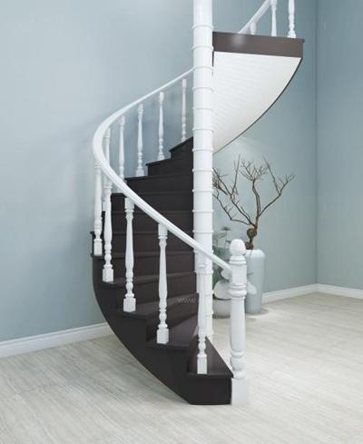 简欧旋转楼梯3D模型【ID:928172267】