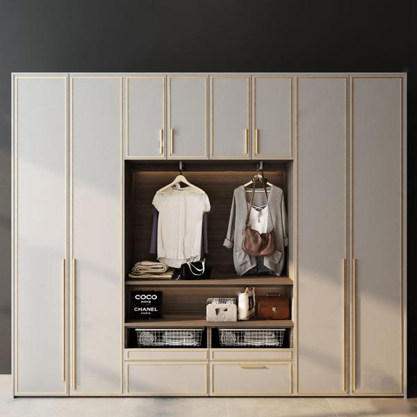 現代衣柜3D模型【ID:146262455】
