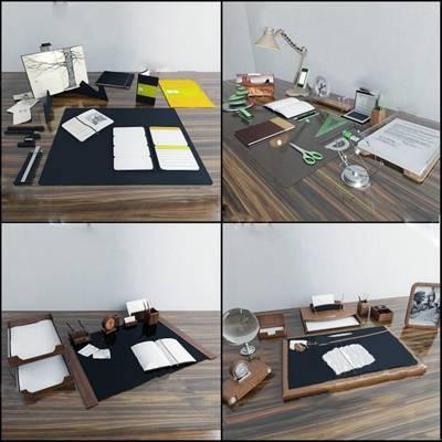 現代辦公用品下載3D模型【ID:419505521】