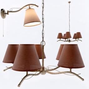 灯具组合3D模型【ID:928172878】