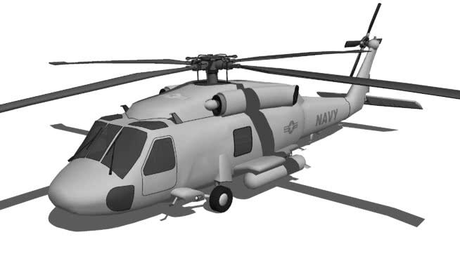 西科斯基SH-60海鷹SU模型【ID:840169446】