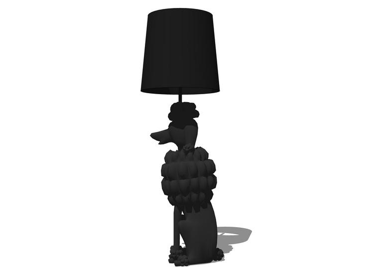 落地燈SU模型【ID:436745261】