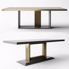 现代餐桌3D模型【ID:128413966】