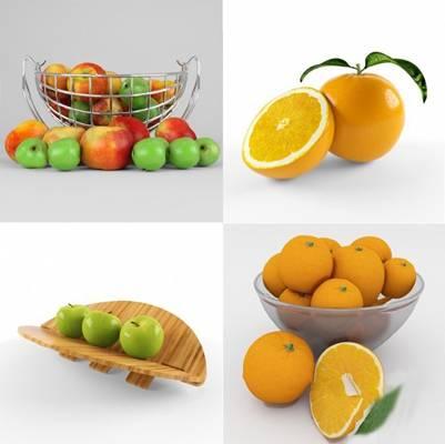 现代水果3D模型【ID:620619057】