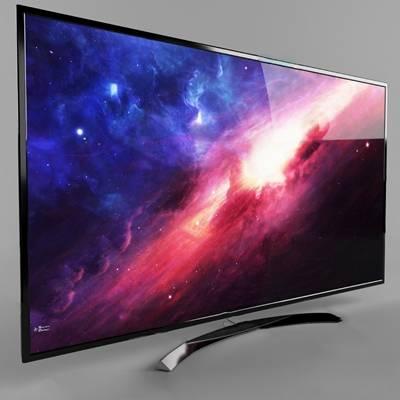 电视机3D模型【ID:320009568】