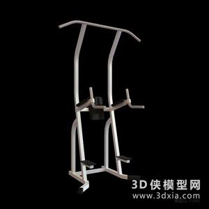 健身器材國外3D模型【ID:129845884】