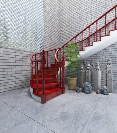 中式楼梯3D模型【ID:920603503】