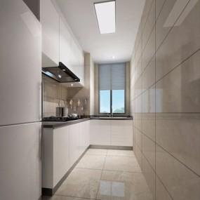 现代厨房3D模型【ID:528019057】